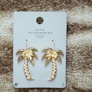 Zara Palm Tree Earrings